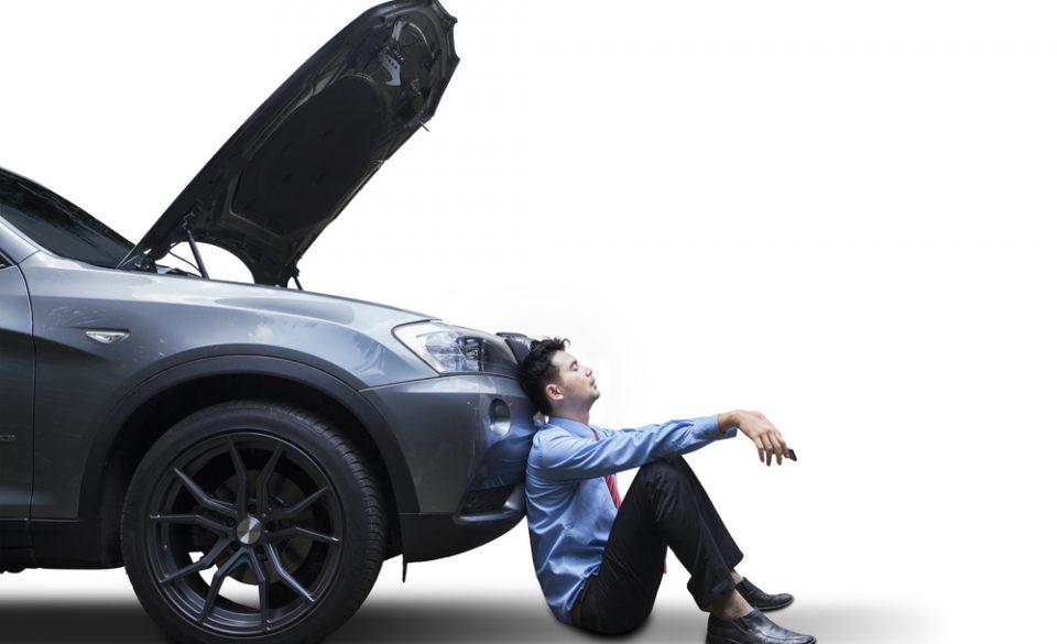 単独事故で廃車にするときの保険適用