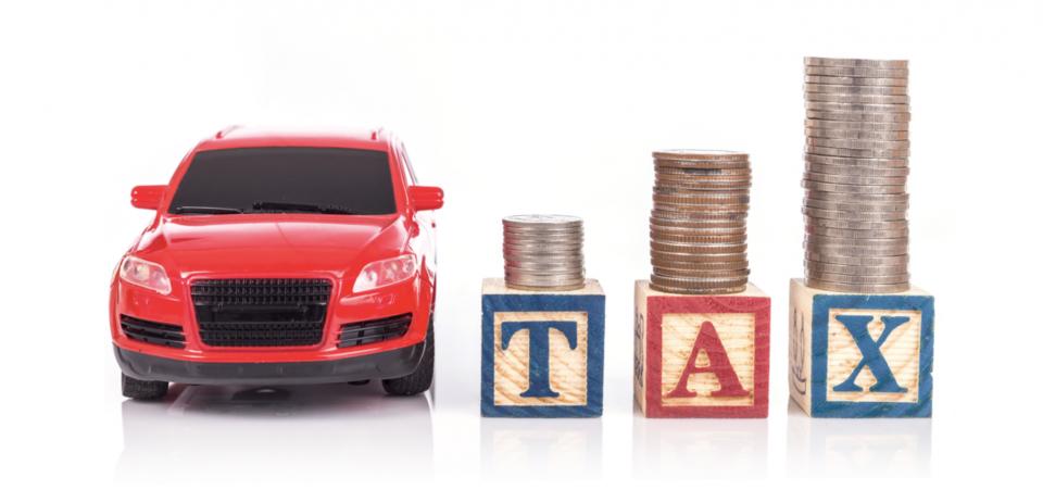 車にかかる税金の種類